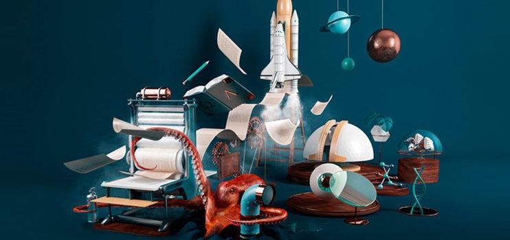 Los diseños en 3D y llenos de colores de Nuria Madrid