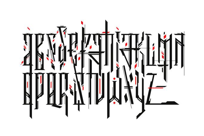 Fuentes tipográficas estilo lettering.