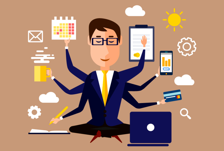 Multitasking ventajas y desventajas. Tareas múltiples