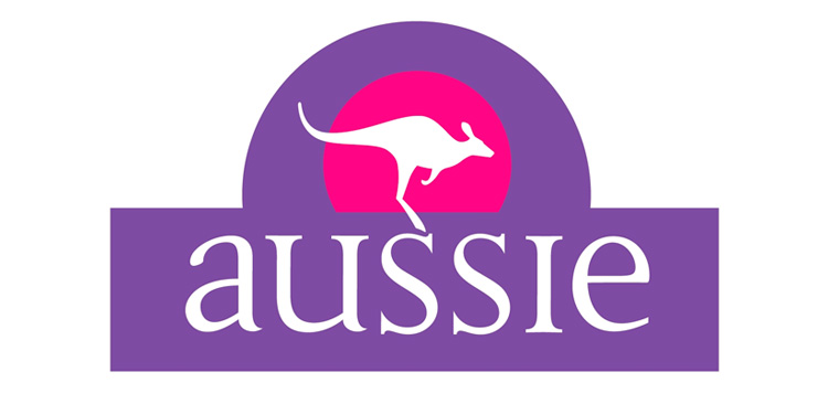 Aussie, morado. Color de identidad corporativa