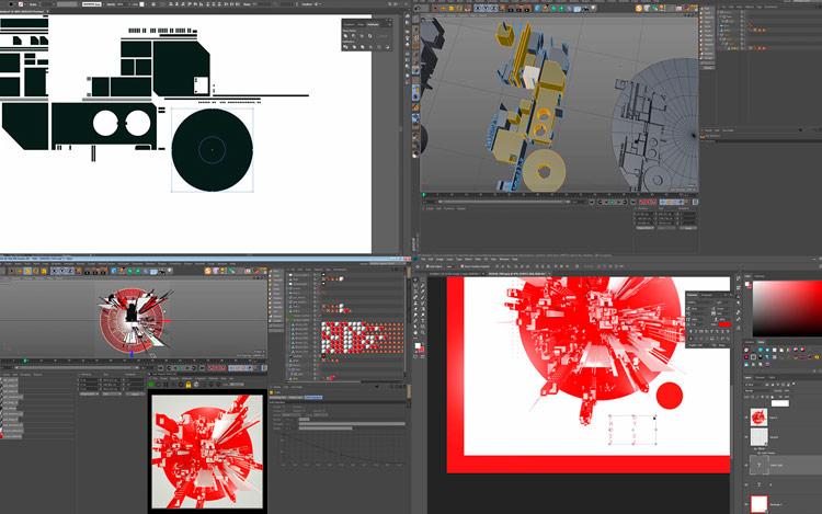 Proceso de diseño Campaña publicitaria Olimpiadas con Adobe Photo Shop y Coca Cola