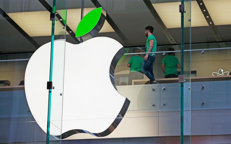 Las energías verdes de Apple