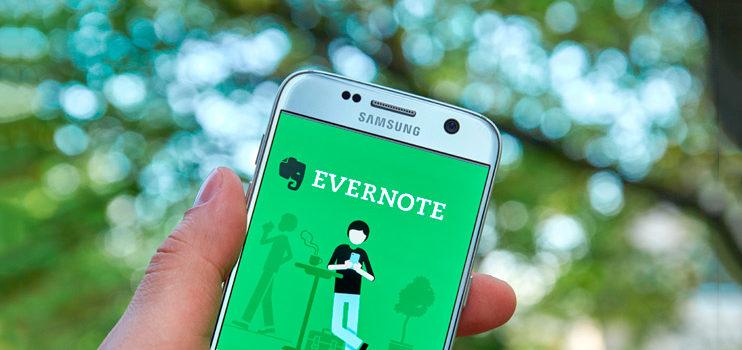 Productividad con ayuda de Evernote