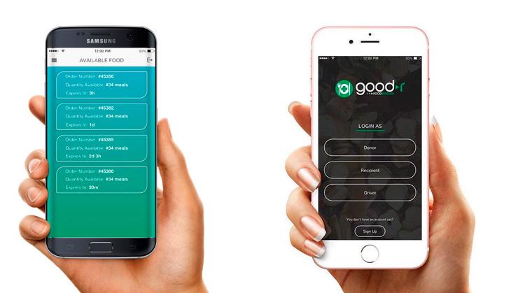 Goodr, la aplicación que alimenta a los más necesitados