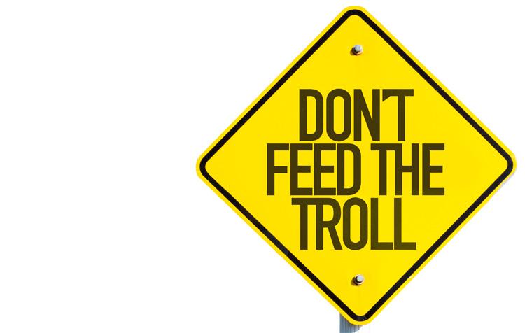 Como actuar ante los haters y os troll