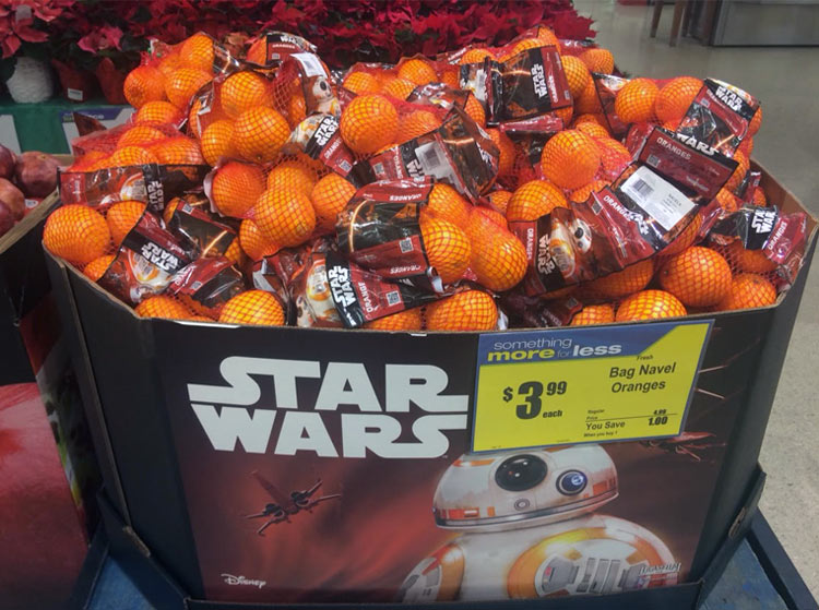 El merchandising de Star Wars