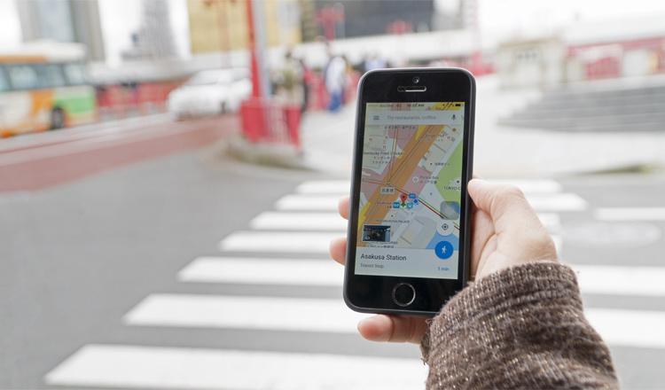 Google maps para buscar restaurantes