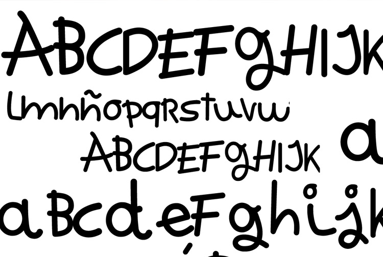 anna vives crea una tipografia digital