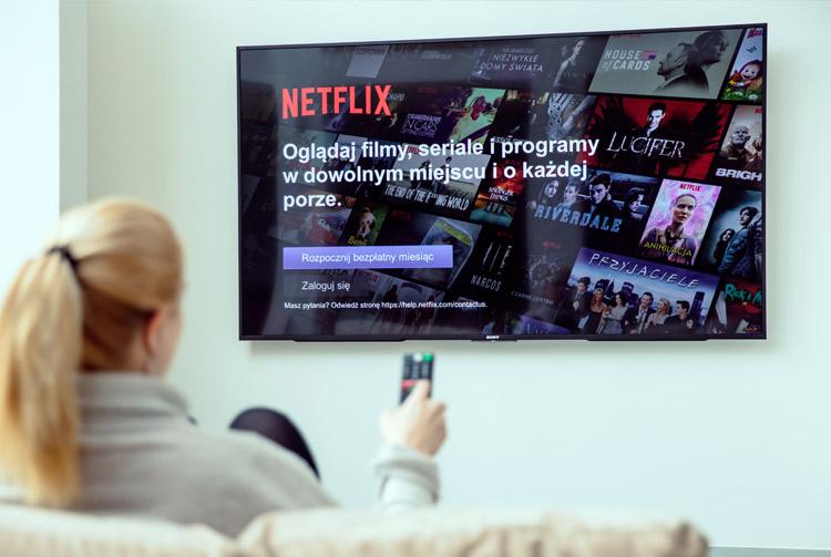 Anuncio de Netflix en televisión