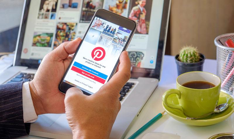Pinterest, red social con gran presencia en un futuro