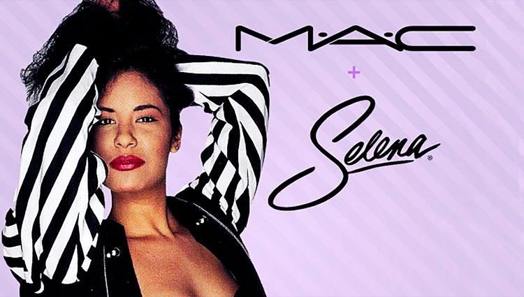 Cosmeticos MAC y Selena